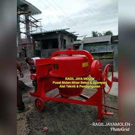 Pemasok Mesin Molen Beton 500 Liter Double Bearing Japan