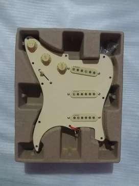 Set Wiring Alnico V pickup gitar model fender squier stratocaster