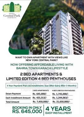 Booking Open Bahria Central Apartment
