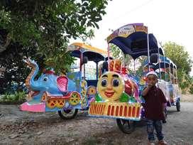 DOV Odong odong tayo kereta motor gajah lampu hias mandi bola