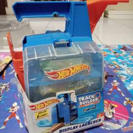 Mainan anak baru hotwheels display launcher