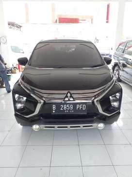Mitsubishi Xpander Sport Matic AT warna hitam tahun 2018 DP Ringan