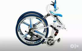 B M.  foldable. 21. Gear SHIMANO. NEW CYCLE Available