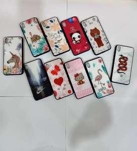 Case Diamond Glass LoveA Glitter IPHONE X
