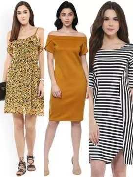 Western Tops & Dresses, kurties, surplus stock.