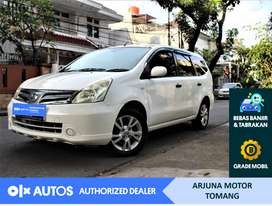 [OLX Autos] Nissan Grand Livina 2012 SV 1.5 Bensin A/T #Arjuna Tomang
