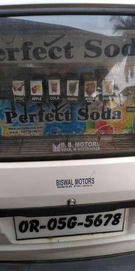 A new 8 flavor Soda machine w