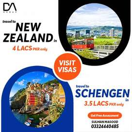 INFO FOR NEW ZEALAND AND EUROPE VISA