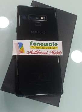 Samsung Note 8 Black bill box all 100%