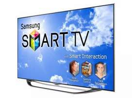 "Today Offer Samsung 60"" Smart LED android 1 year warranty"