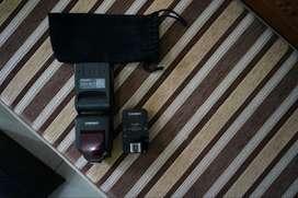 Flash Speedlite TTL HSS Canon Yongnuo YN-685 + trigger Yongnuo YN-622C
