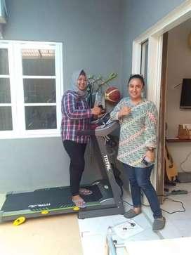 Treadmill elektrik,home gym langsung COD di rumah id 0917
