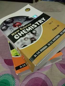 Pradeep's new course chemistry reference book volume 1 and 2