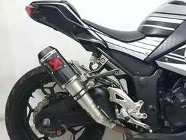 Knalpot akrapivic gp slio on ninja 250 fi/carbu. Sl mono. Z250