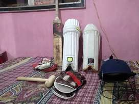 Cricket kit all items with or without bat
