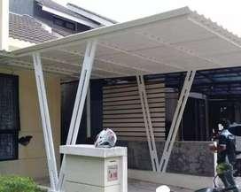 canopy carport dapur baja ringan garansi 10 tahun