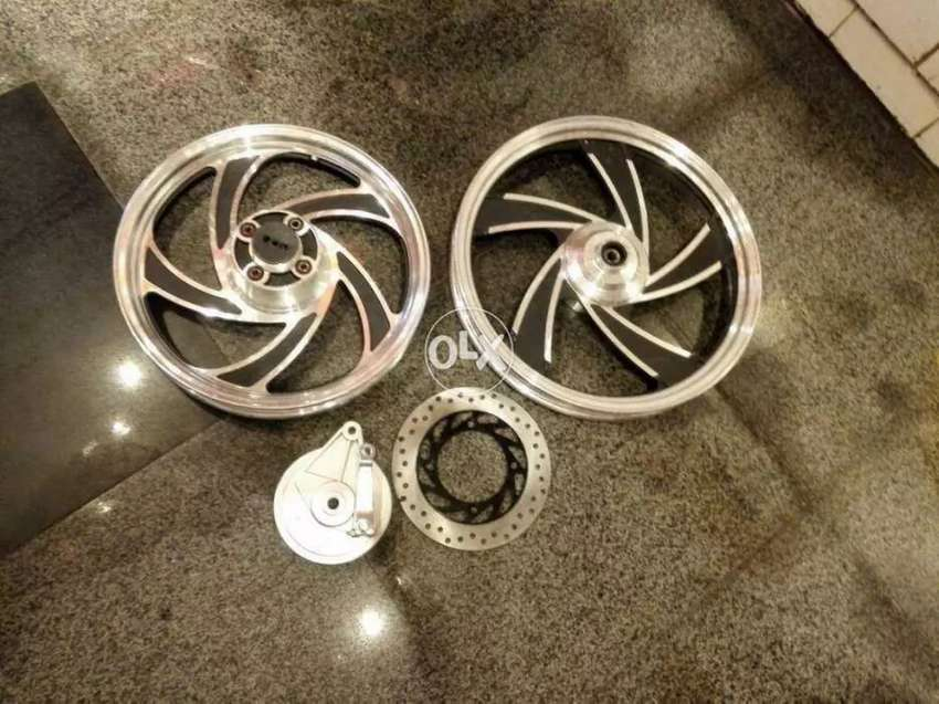 Alloy Rims for suzuki gs 150 At Bullet1Motorsports 0