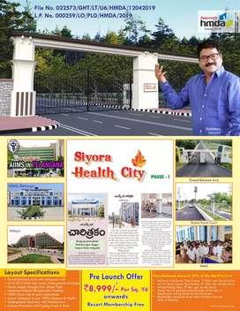 Siyora health city Near AIIMS at Bibinagar