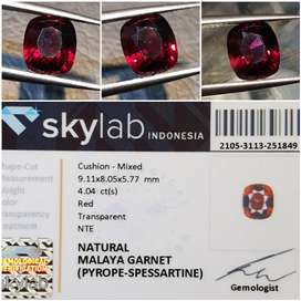 Batu Malaya Garnet Memo 4.04 crt