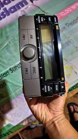 Audio Double Din Mp3 Radio Mobil Terios/Rus OEM ORIGINAL