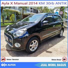 [Dp13jt] Ayla 1.0 X Manual 2014 KM 30rb ANTIK Kredit Murah