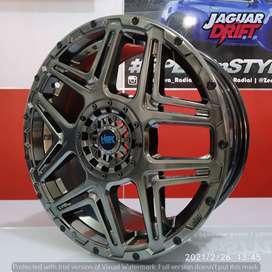 Velg Mobil HSR R16 KONGA Ring 16 Lebar 7 Pcd 4X100 & 4x114,3 ET42 HB