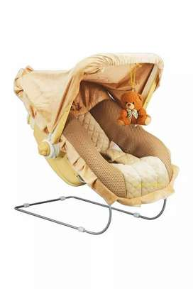 12 in 1 Musical Swing Rocker Carry Cot Cum Bouncer with Mosquito Net