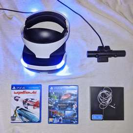 Playstation VR + Camera + Bonus Game PSVR