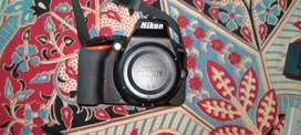 Nikon D5600 with 3 Lens.