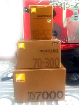 Nikon D7000 with 2 Lense Battery Charger With Box.