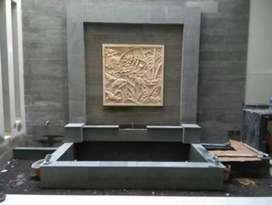 Jasa pembuatan kolam minimalis kolam ikan koi new rekomendasi waterwal
