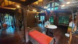Dijual MURAH Villa Joglo Antik Cantik Di Kuta Utara Kerobokan