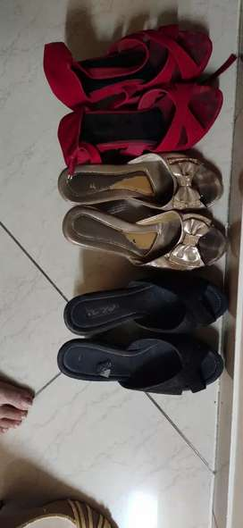 3 casual sandals pairs