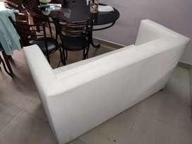 White sofa for. Business