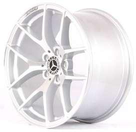 jual pelek mobil racing untuk mercy ring 18x89 H5X112 bisa untuk rush