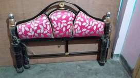 Iron bed 4 feet ×6.5feet