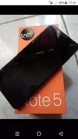 Xiaomi Note 5 Ram 4/64 Fullset, Segel No Minus