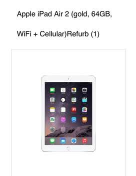 Ipad Air2. 64 GbWith all accessories