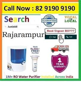Rajarampuri Dolphin RO Water Filter Water Purifier  Cash On Delivery.