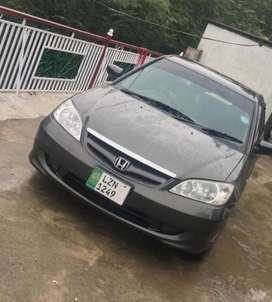 I want to sale my honda civic exi 2005 model in mint condition