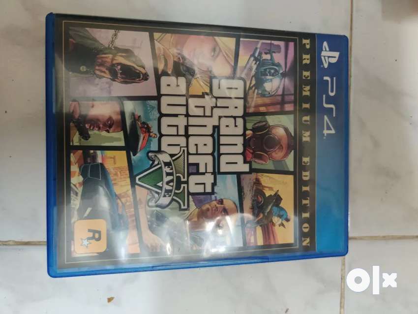 Gta 5 ps4 game for exchange