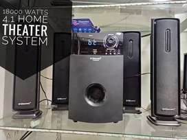 Brand New colour full box // 18000 watts 4.1  HT System at @5999
