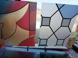 Star  glass paper whole sale rate and wall paper