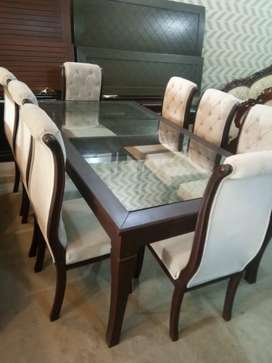 Dinning set with 8 chairs