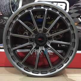 Free Ongkir Velg HSR DPO-2 Ring 20x9 Lubang 6x139,7 Velg Mobil Hillux