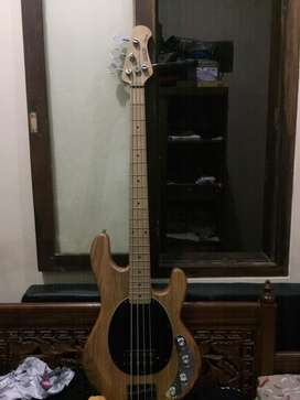 bass musicman stringray custom