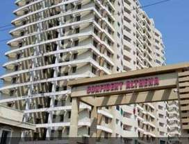 3 BHK Semi furnished apartment for immediate possession