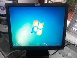 Monitor IBM THINKVISION 15inch normal no minus bergaransi!