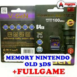 Memory OLD 3DS +FULLGAME Nintendo 2DS XL Nitendo SDHC