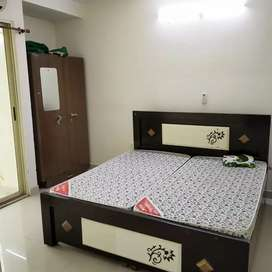 Furnished 2bhk Flat on Rent, Cosmo Valley Township, New Collectorate.